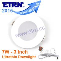 Wholesale 7W 3inch Ultrathin LED Dimmable Downlights Round Panel Light Recessed Mounted lights from china suppliers