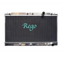 Wholesale MITSUBISHI ECLIPSE 90-94 MANUAL Racing Auto Aluminum Radiator 16mm 26mm from china suppliers