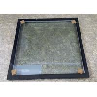 Wholesale Insulated Glass Panels With Black Frame / Sound Proof Insulated Replacement Glass from china suppliers