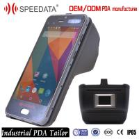Wholesale Industrial wireless Mobile Phone PDA Handheld with Fingerprint NFC Scanner from china suppliers