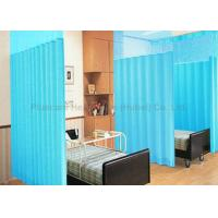 Wholesale Fire Proof Disposable Cubicle Curtains 120 Gsm Thickness Light Blue Color from china suppliers