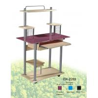 Wholesale Glass And Wood Space Saving Computer Desk from china suppliers