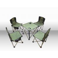 Wholesale Durable Small Folding Beach Chair For Picnic / Camping Table And Chairs Set from china suppliers
