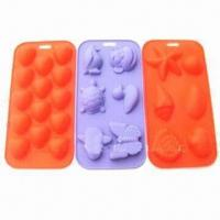 Wholesale Animal Shaped FDA Silicone Ice Trays, Available in Various Designs and Colors from china suppliers