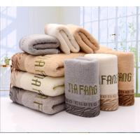 Wholesale 100% cotton grey guest turkish personalized towels embroidery for face from china suppliers