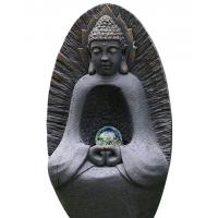 "Wholesale Statue Water Fountain Buddha 37"" , Large Buddha Water Feature With Crystal Ball from china suppliers"