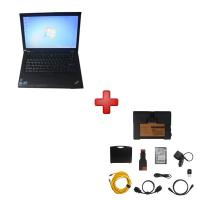 Wholesale Super BMW ICOM A2 BMW Diagnostic Tools With  2017.3V HDD Plus Lenovo T410 Laptop Support Multi Languages from china suppliers