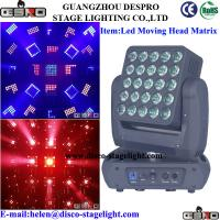 Wholesale Portable RGBW LED Matrix Beam Home Party LED Full Color Rotating Lamp from china suppliers