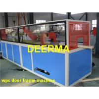 Wholesale Door / Window WPC Production Line PVC Profile Extrusion Machine High Efficient from china suppliers