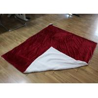 Wholesale Luxurious Double Sided Fleece Blanket Soft , Comfort Blankets For Adults from china suppliers