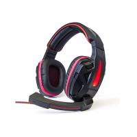 Wholesale Easy Operation Usb Gaming Headset , Pc Gaming Headset With Mic Skin Friendly Material from china suppliers