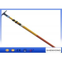 Wholesale 220KV High Voltage Earthing Device Fiberglass Telescopic Hot Stick High Strength from china suppliers