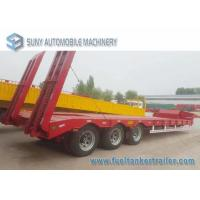 Wholesale Load Capacity 45 T 50 T 3 Axles semi truck trailer Lowbed Hydraulic Legs from china suppliers