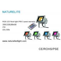 Quality Industrial Plants 10W Led Flood Light ,  Led Light Flood Light 80 lm / W COB  RGB for sale