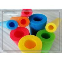 Wholesale 18 Shore EPE Foam Tube , Red Blue Yellow Green Protective Foam Tube from china suppliers