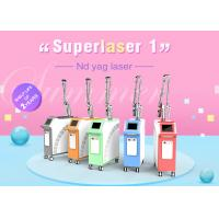 Wholesale CE Approved PMU 532nm 1064nm 1320nm Q Switched Nd Yag Laser Tattoo Removal Machine from china suppliers