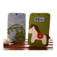 Wholesale Beautifull good quality felt custom waterproof cell phone case wholesale from china suppliers
