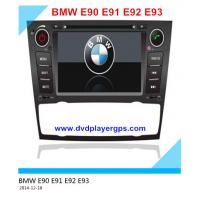 Buy cheap Android car DVD Multi-touch Screen with 3G Wifi Car DVD Player GPS for BMW E90 E91 E92 E93 from wholesalers