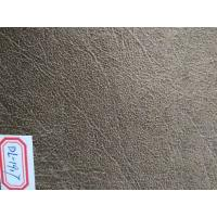 54 Width Embossed Suede Leather Fabric , Synthetic Suede Fabric