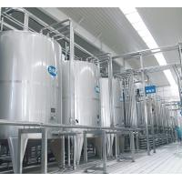 China CE UHT Milk Processing Line High Temperature Sterilization With Pouch / Bottle on sale