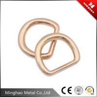 Wholesale Fashion precision small parts d ring zinc alloy buckle for backpack , custom made metal buckle from china suppliers