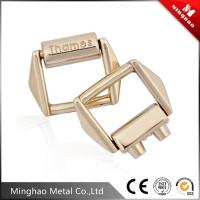 Wholesale 16.02*13.54mm Gold metal bag buckle,metal strap bag clip buckle from china suppliers