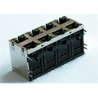 Wholesale 2X4 Ports Stackable Modular Jack RJSNE538508 , RJSNE-5385-08 Variety of LED from china suppliers