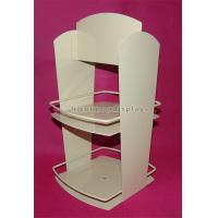 Quality 2-Layer Stationery Metal Display Racks Powder Coated For Shops / Supermarkets for sale