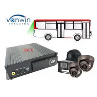 Quality 720p AHD cameras SD Card Mobile DVR Gps 3g Wifi Mobile DVR / MDVR For School Bus for sale