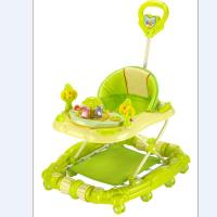 Quality Adjust Modern Baby Girl Walker 6 Wheel Plastic Baby Walker with Handle for sale