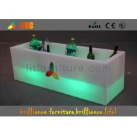 Wholesale LED lighting Ice Bucket Glowing Furniture , Wine Cooler Fashion Design from china suppliers