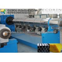 Wholesale Thermal Insulation HDPE Pipe Making Machine For Plastic Pipe Extrusion TUV from china suppliers