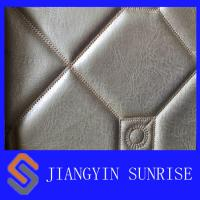 Wholesale Ageing Resistance Synthetic Leather Fabric / Polyurethane Synthetic Leather from china suppliers