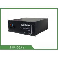 Buy cheap LiFePO4 Battery For Tele Communication , Over 4000 cycles 48V 100Ah Lithium Battery from wholesalers