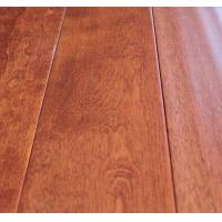 Wholesale Birch Engineered Wood Flooring-wheat color, handscraped and UV lacquer from china suppliers