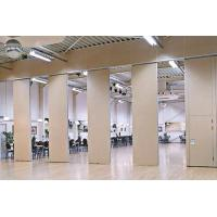 Wholesale 85mm Thickness Movable Sliding Folding Acoustic Wall With Passing Door from china suppliers