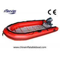Wholesale Large Rubber Inflatable Rescue Boat Six Person Inflatable Boats With Plywood Floor from china suppliers