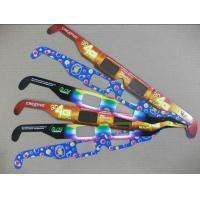 Wholesale Disposable 3D Firework Glasses For Holiday , Cardboard Frame 3d Glasses from china suppliers