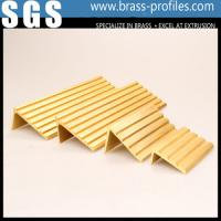 Wholesale Safe Decarative Brass Antislip Stair Strip Copper Staircase Nosing from china suppliers