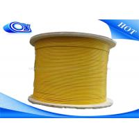 Wholesale 0.9 , 2.0 , 3.0mm Indoor Fiber Optic Patch Cord , Unarmored FO Cable from china suppliers