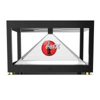 Buy cheap Big 3D Projector 360 Degree Holographic Display Showcase 4 Sides View from wholesalers