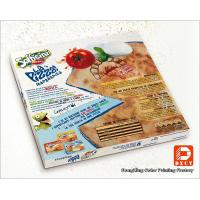 Quality Recycle Plain Pizza Packaging Boxes , Glossy Lamination Corrugated 12 Inch Pizza Boxes for sale