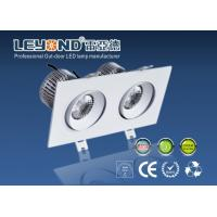 Wholesale Double Heads LED Downlight With CREE COB And Anti Glare Lens from china suppliers