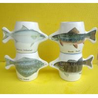 Wholesale Export 9179fish ceramic mug custom LOGO coffee mark cup from china suppliers