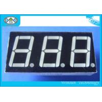 Wholesale 0.8 Inch 7 Segment LED Digital Display , Counter Display Three Digit For Household Eletronics from china suppliers