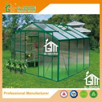 Wholesale 8'x8'x6.7'FT Green Color Double Door Traditional Series Garden Greenhouse from china suppliers