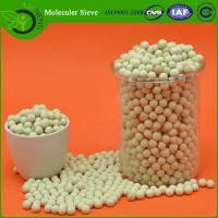 Buy cheap Zeolite molecular sieve 3a for removal of hydrocarbon and Co2 Adsorption from wholesalers