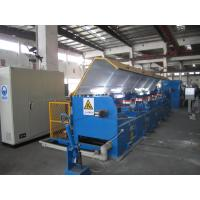 Quality High / Low Carbon Steel Wire Drawing Process Cnc Drawing Machine 30KW Power for sale