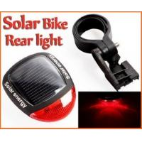 Wholesale low price Solar 2 LED Red Bike Bicycle Rear Tail Light Lamp from china suppliers