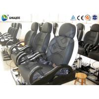 Wholesale Fiberglass 5D Electronic Cinema Motion Chair Genuine Leather With Spray Air from china suppliers